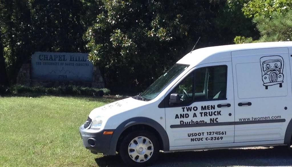 Two Men and a Truck - moving company  | Photo 3 of 10 | Address: 7711 Welborn St Ste 110, Raleigh, NC 27615, USA | Phone: (919) 355-4138