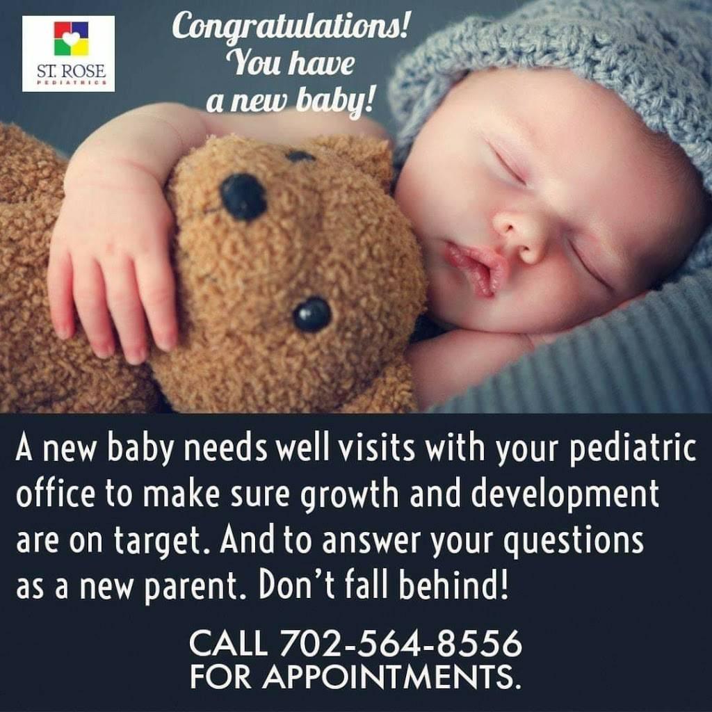 St Rose Pediatrics - doctor    Photo 6 of 7   Address: 8980 W Cheyenne Ave, Las Vegas, NV 89129, USA   Phone: (702) 564-8556