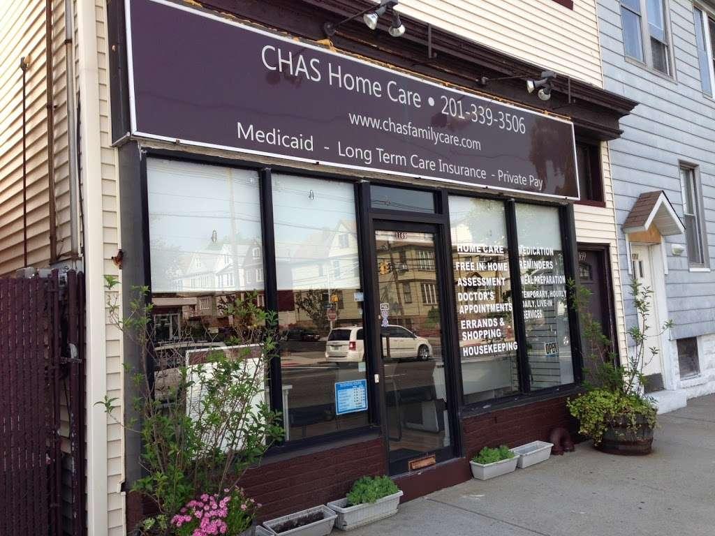 CHAS Home Care Services - health  | Photo 1 of 1 | Address: 1169 John Fitzgerald Kennedy Blvd, Bayonne, NJ 07002, USA | Phone: (201) 339-3506