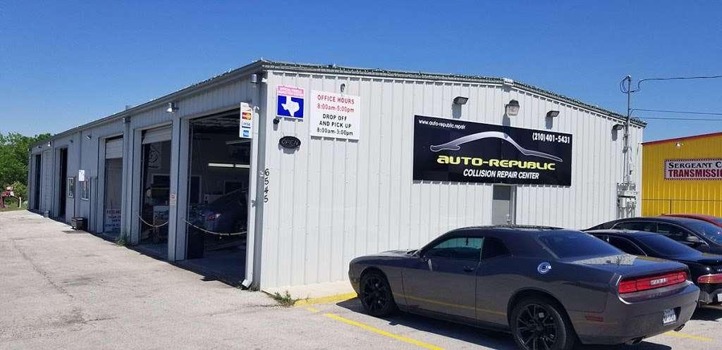 Auto-Republic Collision Repair Center - car repair  | Photo 1 of 10 | Address: 6545 Walzem Rd, San Antonio, TX 78239, USA | Phone: (210) 401-5431