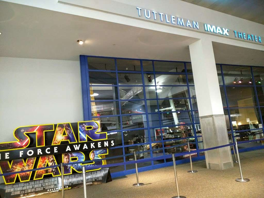 The Tuttleman IMAX® Theater at The Franklin Institute