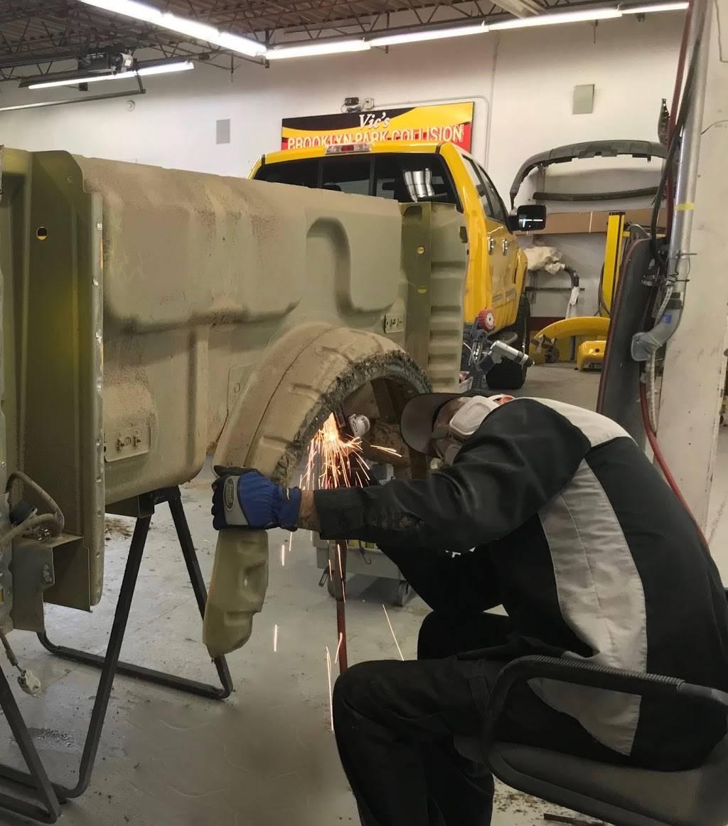Vics & Jims Collision Center - car repair  | Photo 4 of 7 | Address: 6460 Zane Ave N, Brooklyn Park, MN 55429, USA | Phone: (763) 536-9928