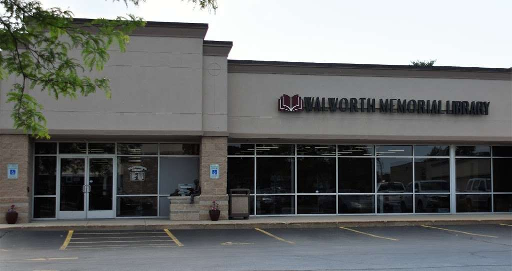 Walworth Memorial Library - library  | Photo 1 of 2 | Address: 525 Kenosha St, Walworth, WI 53184, USA | Phone: (262) 275-6322