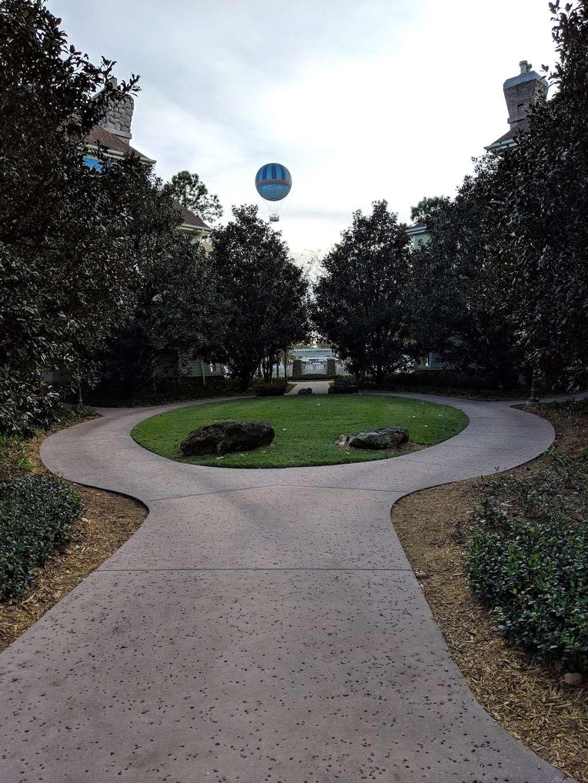 Disneys Saratoga Springs Resort & Spa - Congress Park - bus station  | Photo 5 of 6 | Address: Lake Buena Vista, FL 32830, USA