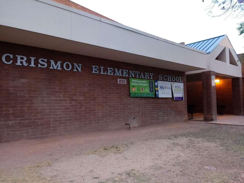 Crismon Elementary School - school  | Photo 2 of 10 | Address: 825 W Medina Ave, Mesa, AZ 85210, USA | Phone: (480) 472-4000