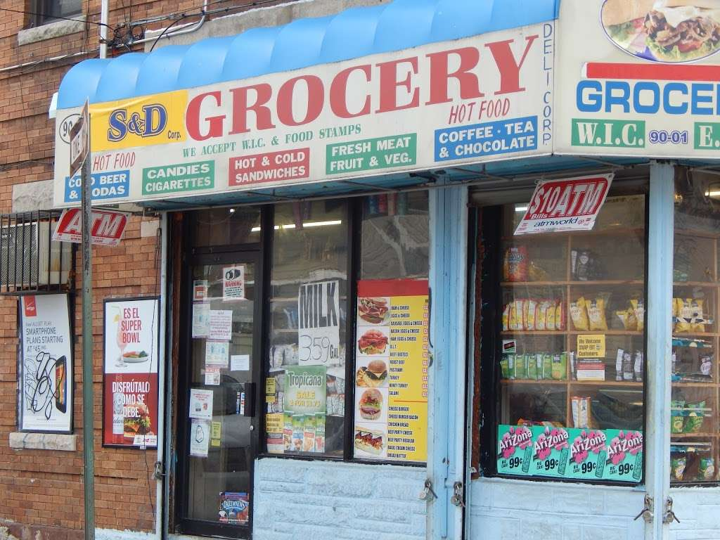 S & D DELI AND GROCERY CORP - store  | Photo 9 of 10 | Address: 90-01 77th St, Woodhaven, NY 11421, USA | Phone: (347) 960-7506