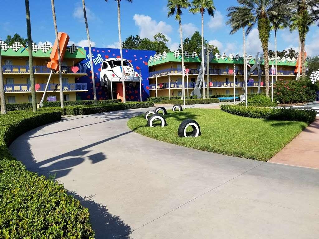 Disneys All-Star Movies Resort - bus station  | Photo 3 of 10 | Address: Directors Dr, Kissimmee, FL 34747, USA
