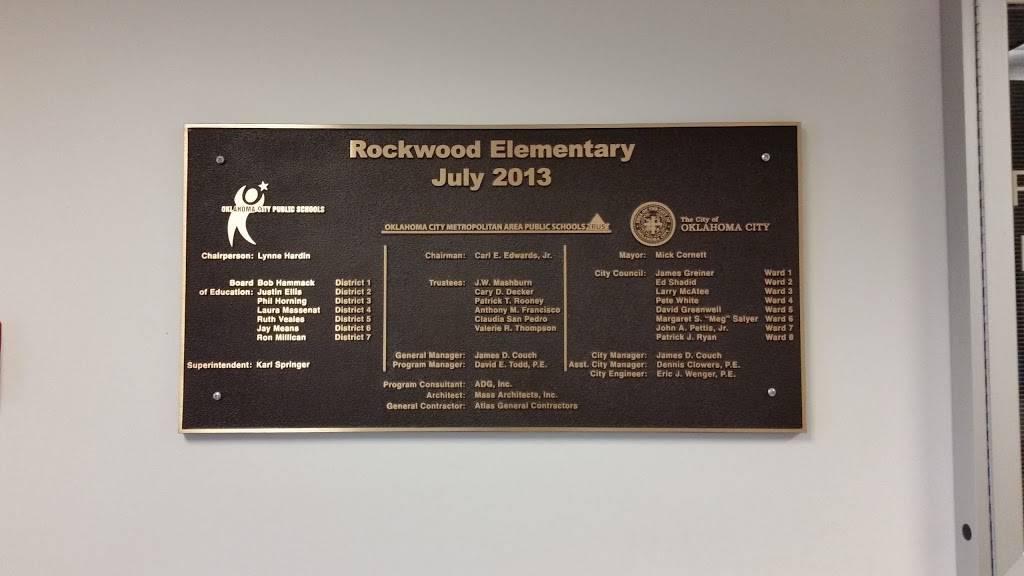 Rockwood Elementary School - school    Photo 4 of 4   Address: 3101 SW 24th St, Oklahoma City, OK 73108, USA   Phone: (405) 587-1500