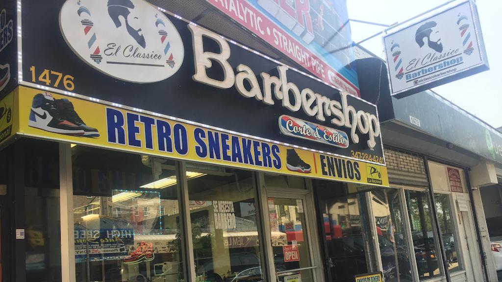 El Clasico Barber Shop - hair care  | Photo 1 of 5 | Address: 1476 Jerome Ave, The Bronx, NY 10452, USA | Phone: (347) 284-4241