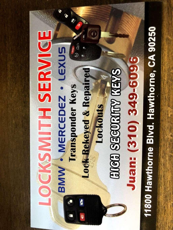 A 1-Victor locksmith - locksmith    Photo 2 of 2   Address: 11800 s Hawthorne Blvd, Hawthorne, CA 90250, USA   Phone: (310) 349-6096