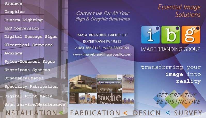 Image Branding Group Signs & Graphics - store  | Photo 3 of 3 | Address: 38 Spring Rd, Boyertown, PA 19512, USA | Phone: (484) 366-8143