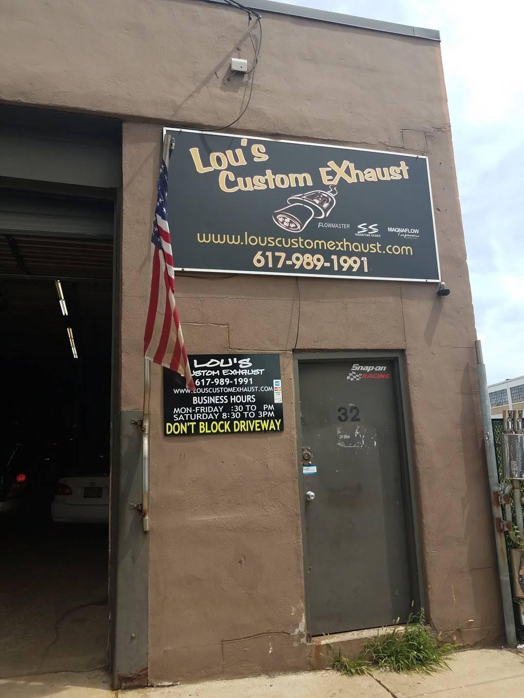 Lous Custom Exhaust - car repair  | Photo 7 of 10 | Address: 32 Allerton St, Boston, MA 02119, USA | Phone: (617) 989-1991