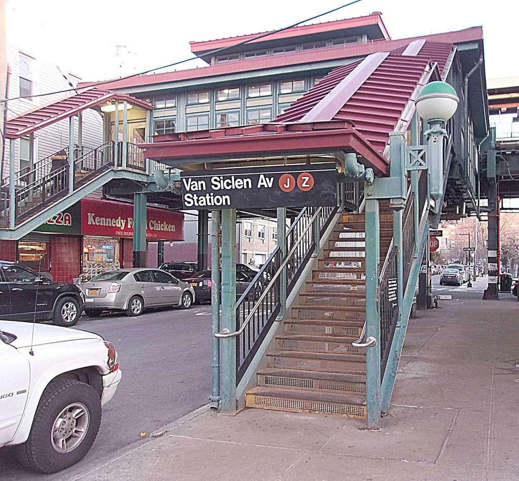 Van Siclen Av - subway station  | Photo 3 of 10 | Address: Brooklyn, NY 11207, USA