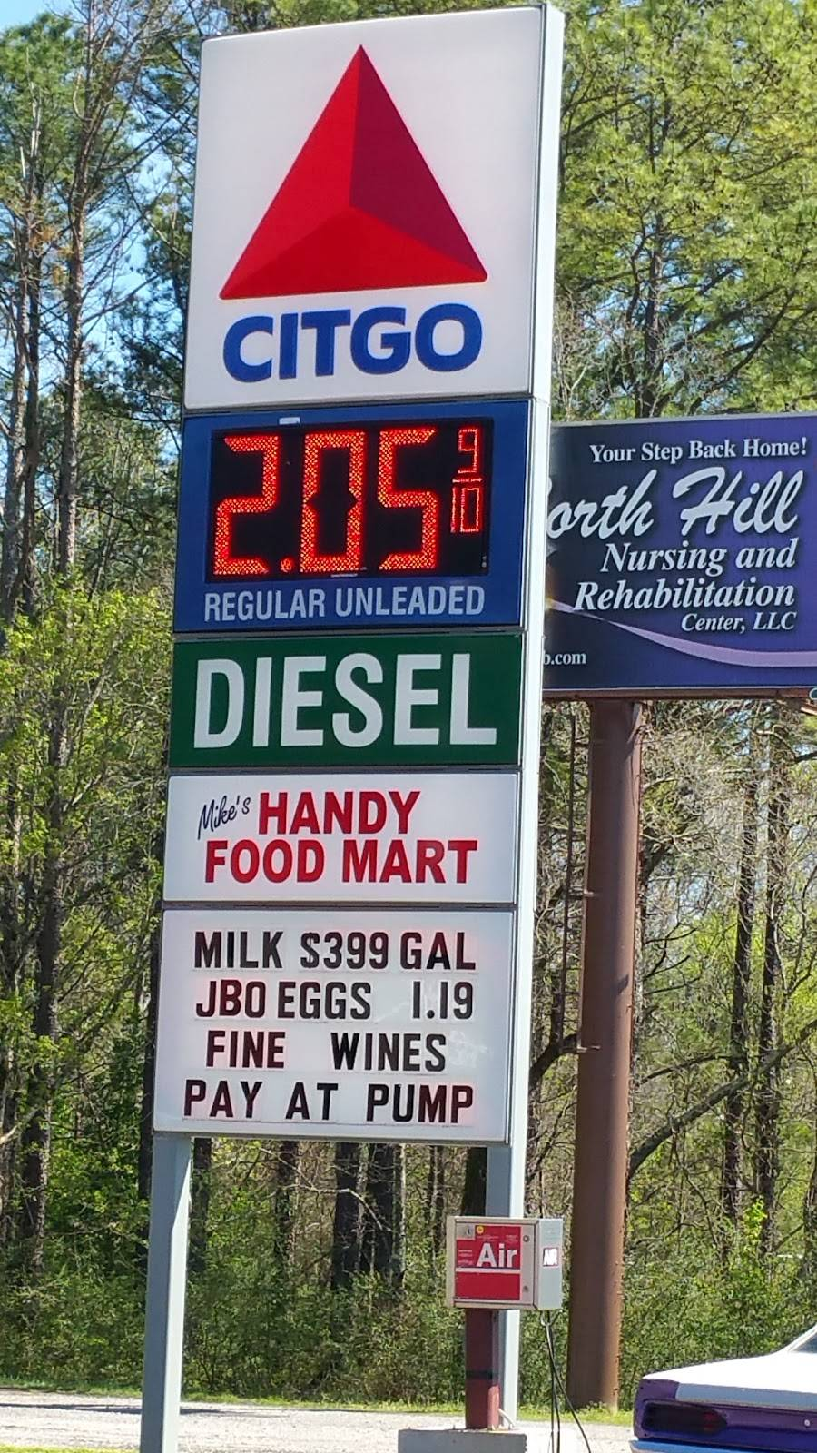 Mikes Handy Food Mart - gas station    Photo 1 of 1   Address: 439 Decatur Hwy, Gardendale, AL 35071, USA   Phone: (205) 631-2954
