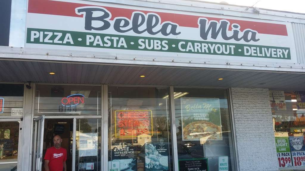 Bella Mia Inc - restaurant  | Photo 1 of 5 | Address: 8144 Fort Smallwood Rd, Curtis Bay, MD 21226, USA | Phone: (410) 439-8050