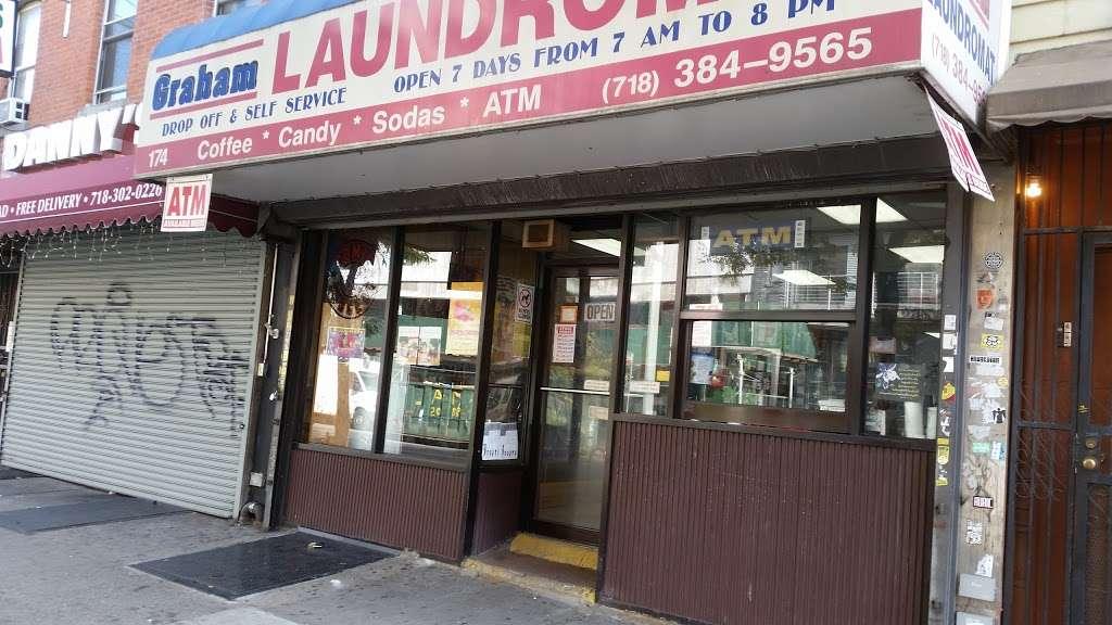 Graham Laundromat - laundry  | Photo 1 of 2 | Address: 174 Graham Ave, Brooklyn, NY 11206, USA