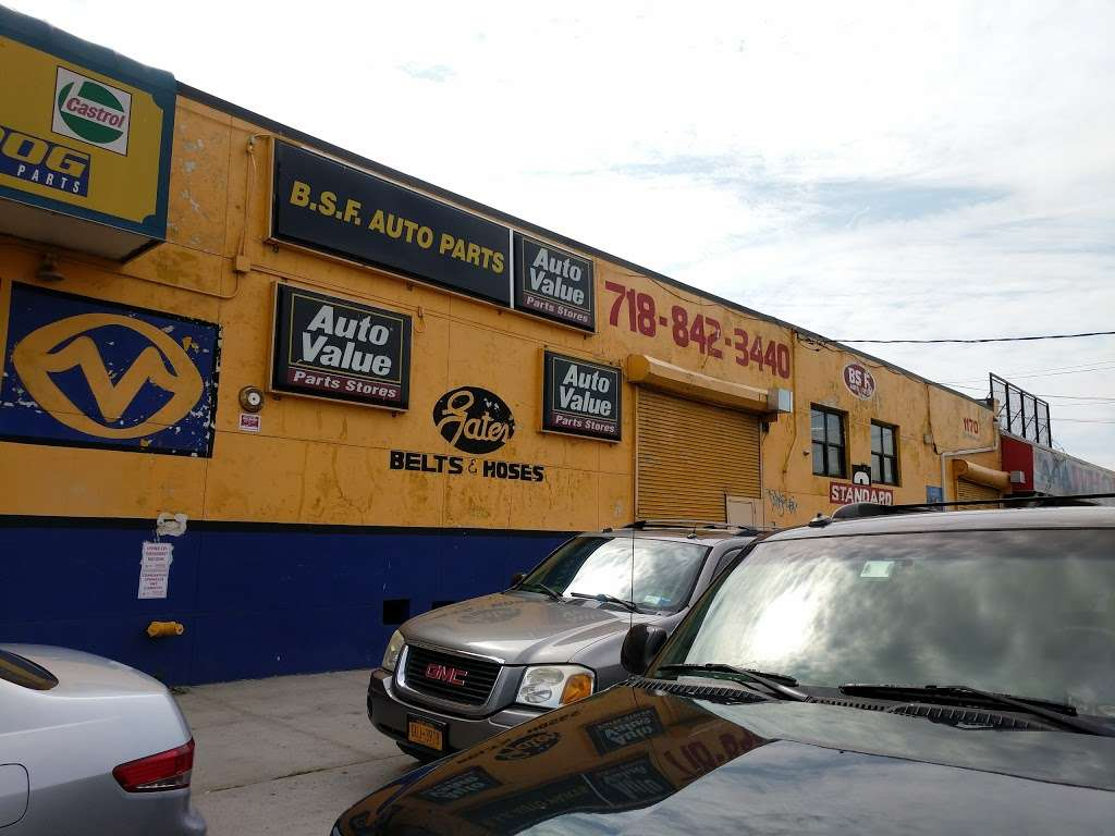 B.S.F. Auto Parts - car repair  | Photo 4 of 10 | Address: 1170 Bronx River Ave, Bronx, NY 10472, USA | Phone: (718) 842-3440