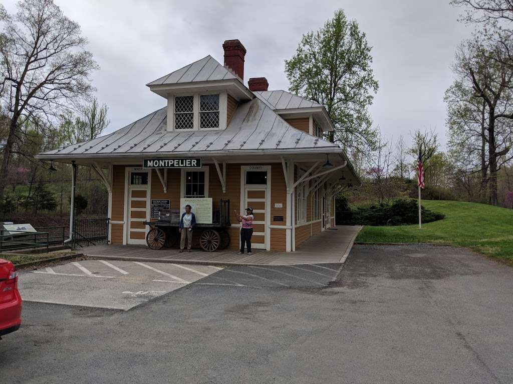 Historic Montpelier Railroad Depot ca. 1910 - museum  | Photo 6 of 10 | Address: 11350 Constitution Hwy, Montpelier Station, VA 22957, USA