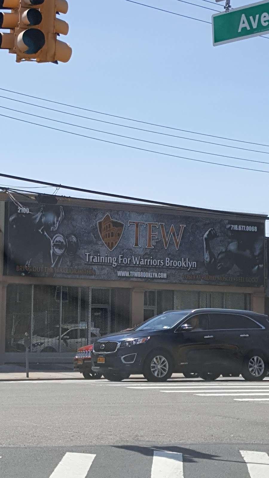 TFW Brooklyn - gym    Photo 2 of 5   Address: 2100 Flatbush Ave, Brooklyn, NY 11234, USA   Phone: (718) 677-0068