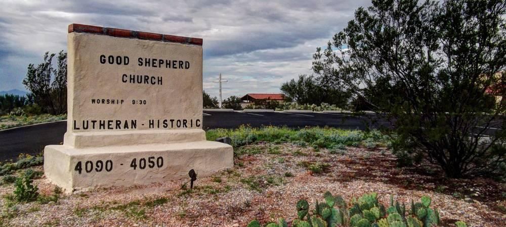 Good Shepherd Ev. Lutheran Church - church  | Photo 6 of 6 | Address: 4090 S Melpomene Way, Tucson, AZ 85730, USA | Phone: (520) 448-8694