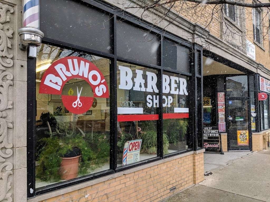 Bruno S Barber Shop 3110 N Milwaukee Ave Chicago Il 60618 Usa