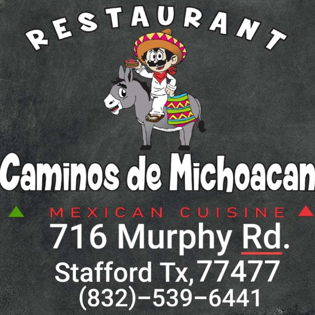 Restaurant Caminos De Michoacan - restaurant  | Photo 1 of 10 | Address: 716 Murphy Rd, Stafford, TX 77477, USA | Phone: (832) 539-6441