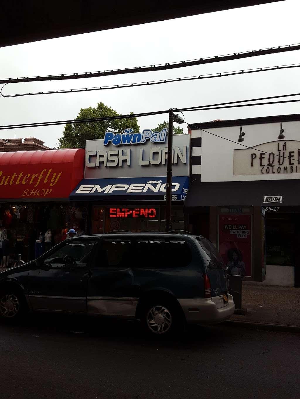 Pawn Pal - store    Photo 1 of 1   Address: 83-25 Roosevelt Ave, Jackson Heights, NY 11372, USA   Phone: (718) 651-2397