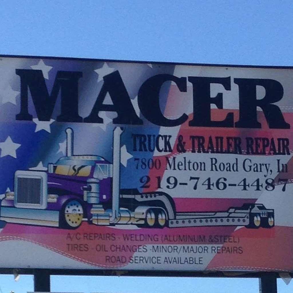 Macer Truck and Trailer Repair Shop - car repair  | Photo 10 of 10 | Address: 7800 Melton Rd, Gary, IN 46403, USA | Phone: (219) 746-4487