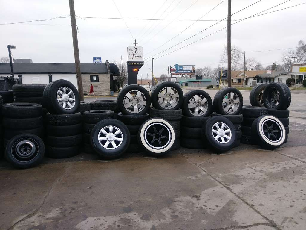 IMC Tire and Mufflers Service Inc - car repair  | Photo 9 of 10 | Address: 3521 W 16th St, Indianapolis, IN 46222, USA | Phone: (317) 426-2011