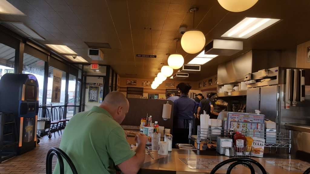 Waffle House - meal takeaway    Photo 9 of 10   Address: 7203 Garth Rd, Baytown, TX 77521, USA   Phone: (281) 421-2499