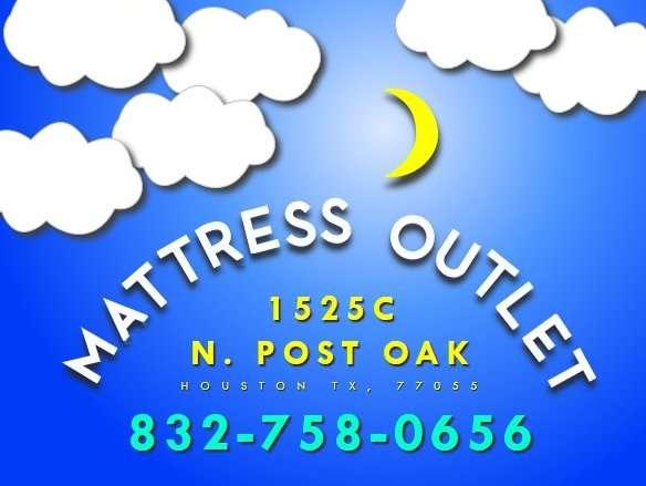 Mattress Outlet N. Post Oak - furniture store  | Photo 5 of 5 | Address: 1525C N Post Oak Rd, Houston, TX 77055, USA | Phone: (832) 758-0656
