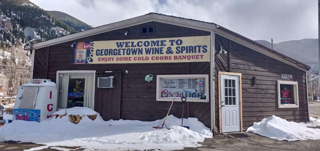 Georgetown Liquors - store  | Photo 1 of 10 | Address: 1406 Argentine St, Georgetown, CO 80444, USA | Phone: (303) 569-3138