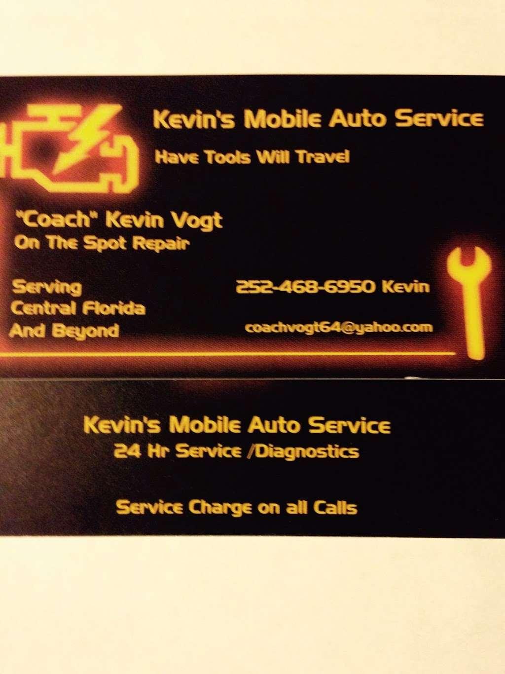 Kevins Mobile Auto Service - car repair    Photo 10 of 10   Address: 1112 Cobblestone Cir, Kissimmee, FL 34744, USA   Phone: (252) 468-6950