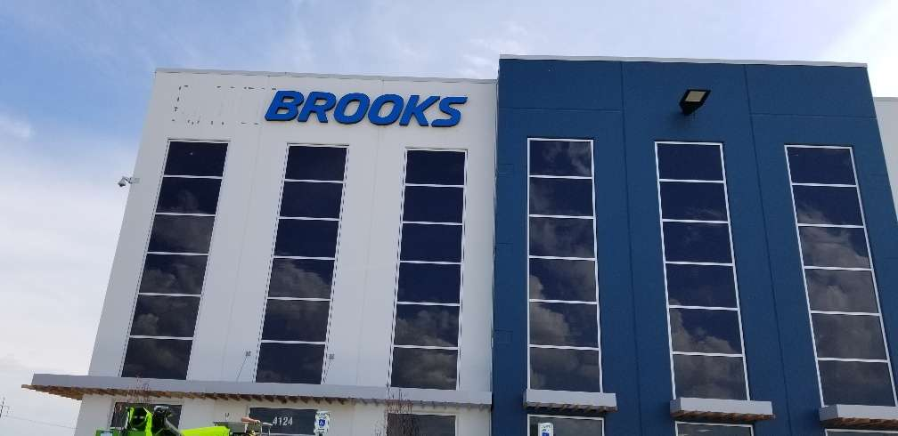 Brooks Sports Inc. Distribution Center - storage  | Photo 1 of 3 | Address: 4124 AllPoints Drive, Whitestown, IN 46075, USA | Phone: (317) 561-1001
