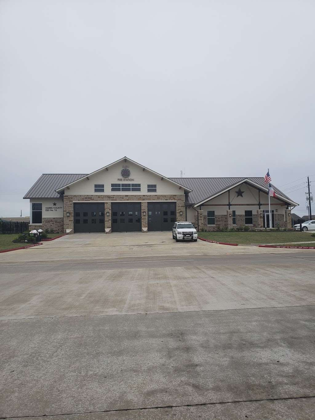 KLEIN FIRE DEPARTMENT STATION 8 - fire station  | Photo 2 of 2 | Address: 6900 Crescent Clover Dr, Spring, TX 77379, USA