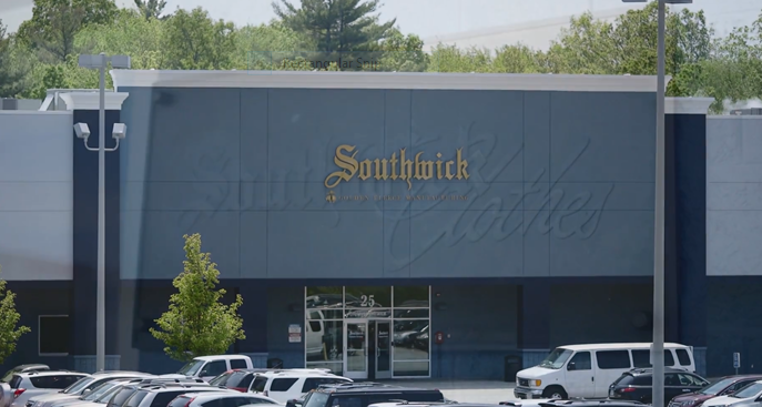 Southwick Factory Store - clothing store  | Photo 1 of 10 | Address: 25 Computer Dr, Haverhill, MA 01832, USA | Phone: (978) 738-0885
