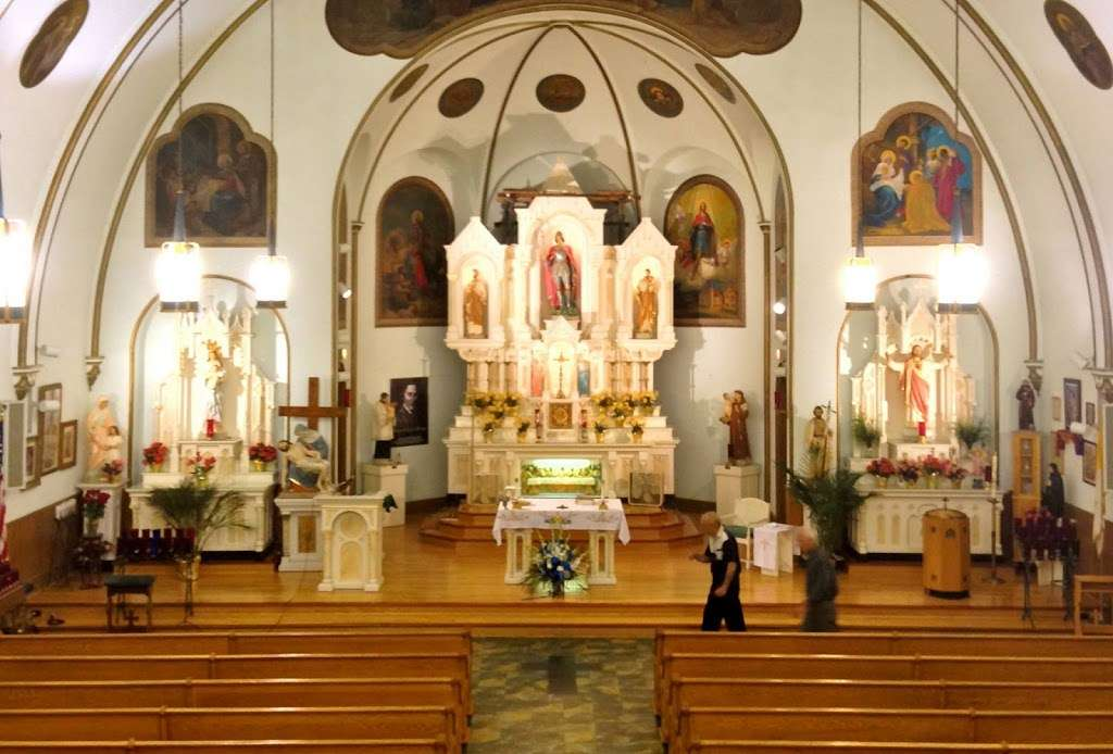 St. George Roman Catholic Church - church  | Photo 1 of 10 | Address: 9546 S Ewing Ave, Chicago, IL 60617, USA | Phone: (773) 734-0554