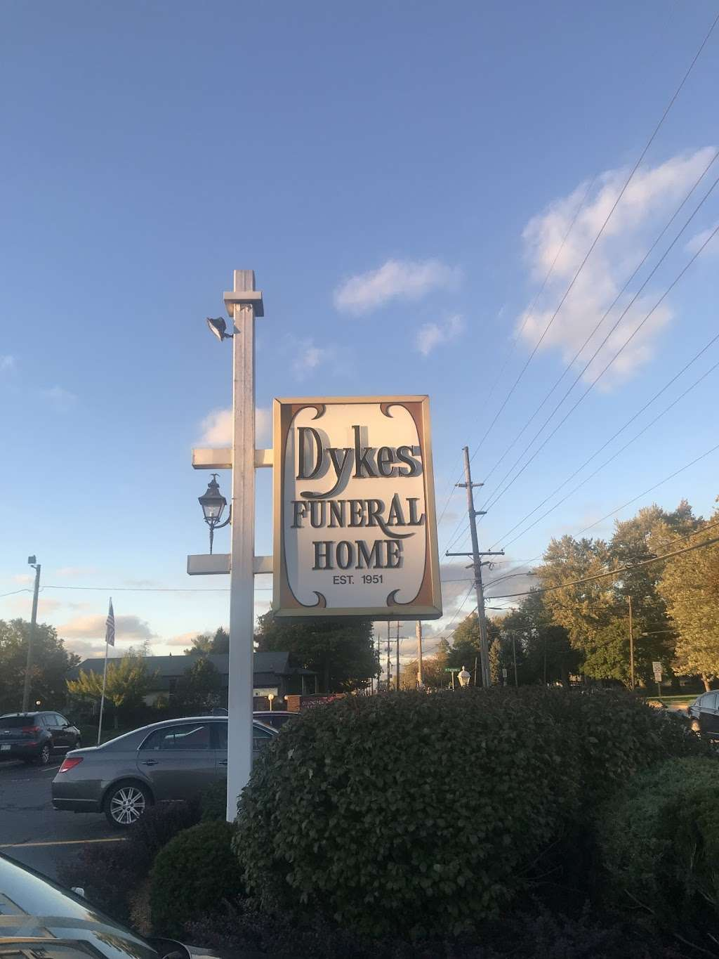 Dykes Funeral Home - funeral home    Photo 1 of 2   Address: 2305 N Campbell St, Valparaiso, IN 46385, USA   Phone: (219) 462-3125