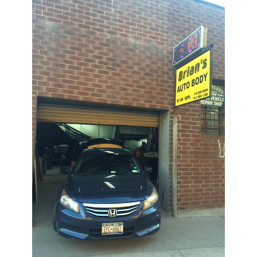 Brians Auto Body Shop Inc - car repair  | Photo 6 of 6 | Address: 51-04 58th Pl, Woodside, NY 11377, USA | Phone: (917) 605-1160