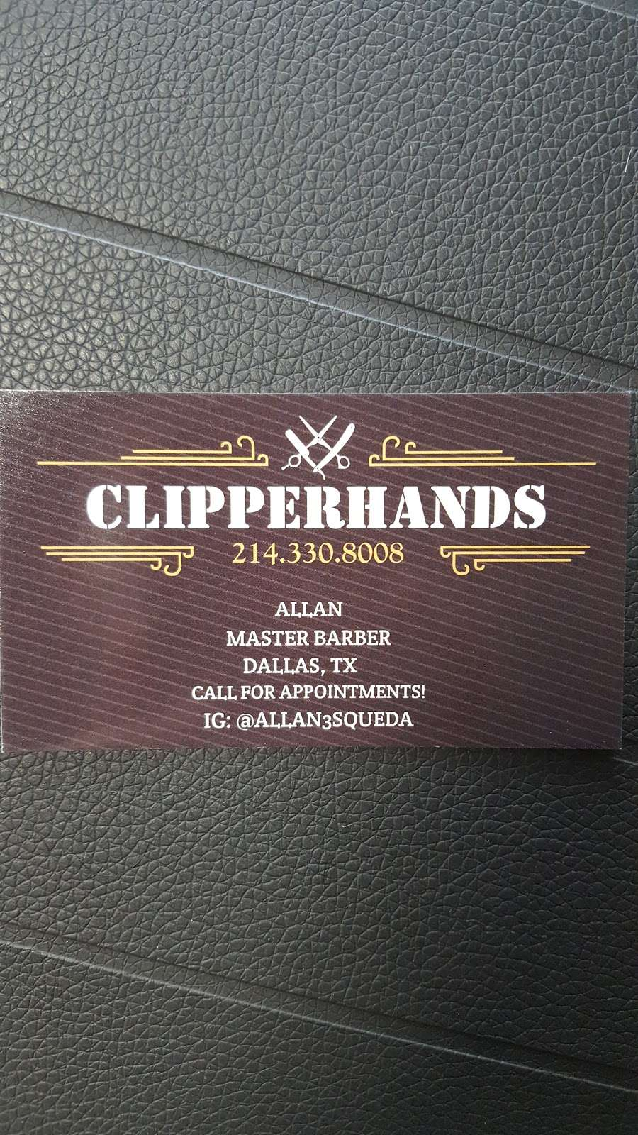 CLIPPERHANDS BARBER AND MOBILE BARBER. - hair care  | Photo 2 of 3 | Address: 2300 Keller Springs Rd, Carrollton, TX 75006, USA | Phone: (214) 330-8008