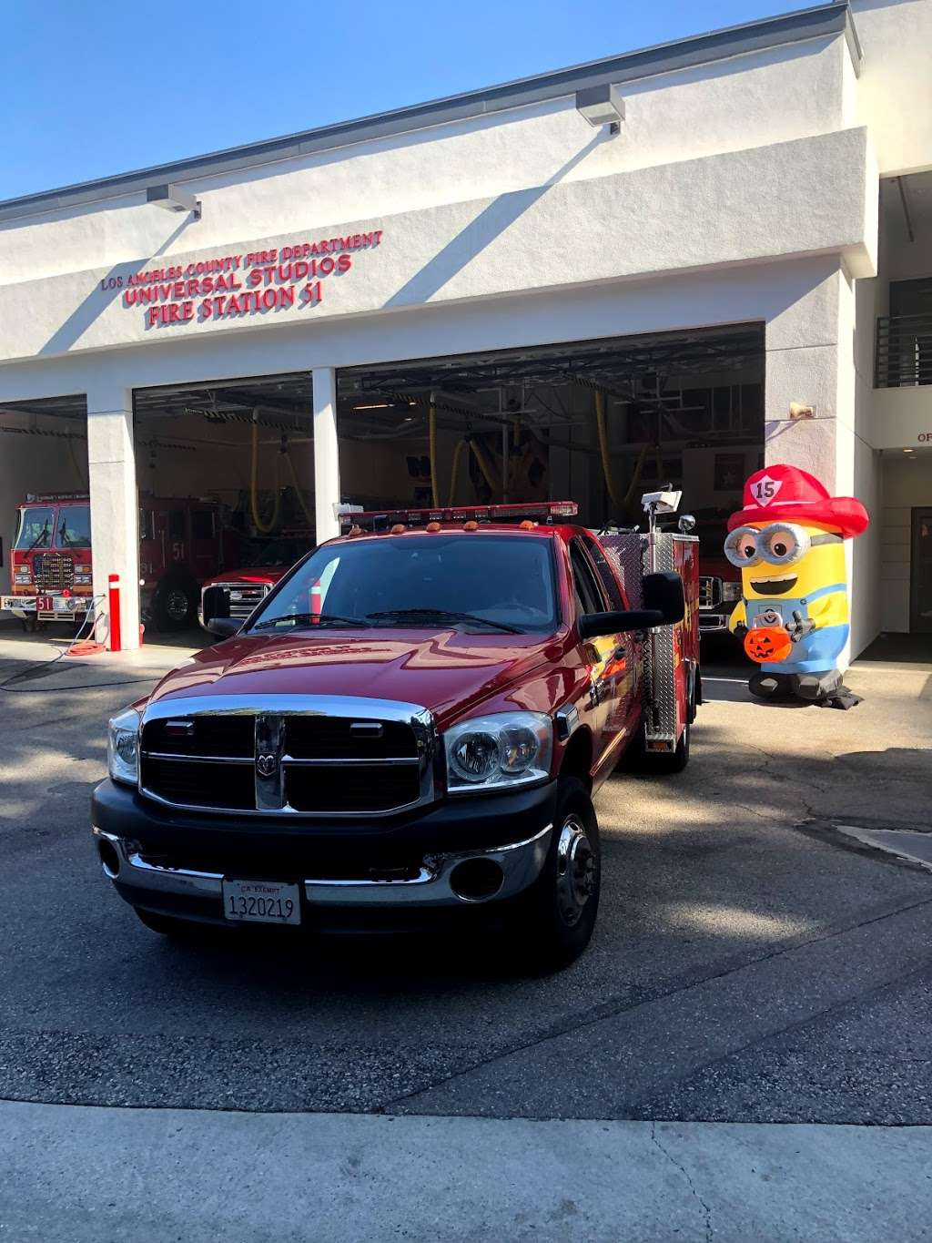 Los Angeles County Fire Dept. Station 51 - fire station  | Photo 5 of 8 | Address: 3900 Lankershim Blvd, North Hollywood, CA 91602, USA | Phone: (323) 877-4412