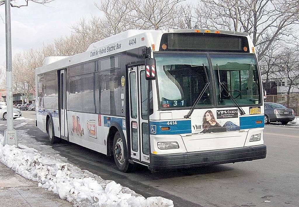 W 205 St/paul Av - bus station  | Photo 6 of 7 | Address: Bronx, NY 10468, USA