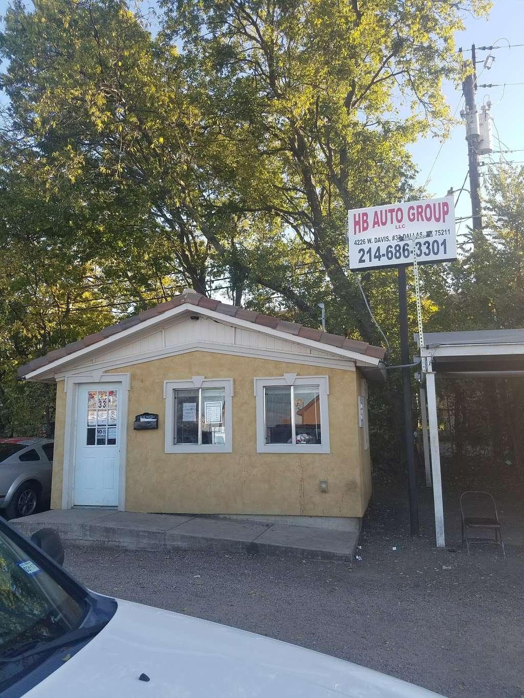Hb auto group LLC - car dealer  | Photo 4 of 4 | Address: 4226 W Davis St, Dallas, TX 75211, USA | Phone: (469) 268-5286