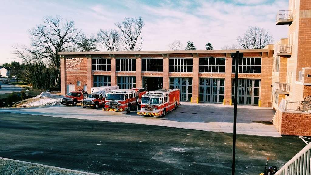 Elkridge Volunteer Fire Department - fire station  | Photo 1 of 10 | Address: 5700 Rowanberry Dr, Elkridge, MD 21075, USA | Phone: (410) 313-4901