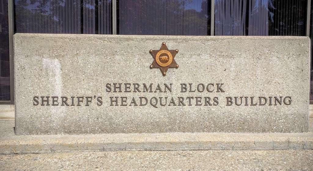 Los Angeles Sheriffs Department - Sherman Block Building - local government office    Photo 2 of 3   Address: 4700 Ramona Blvd, Monterey Park, CA 91754, USA