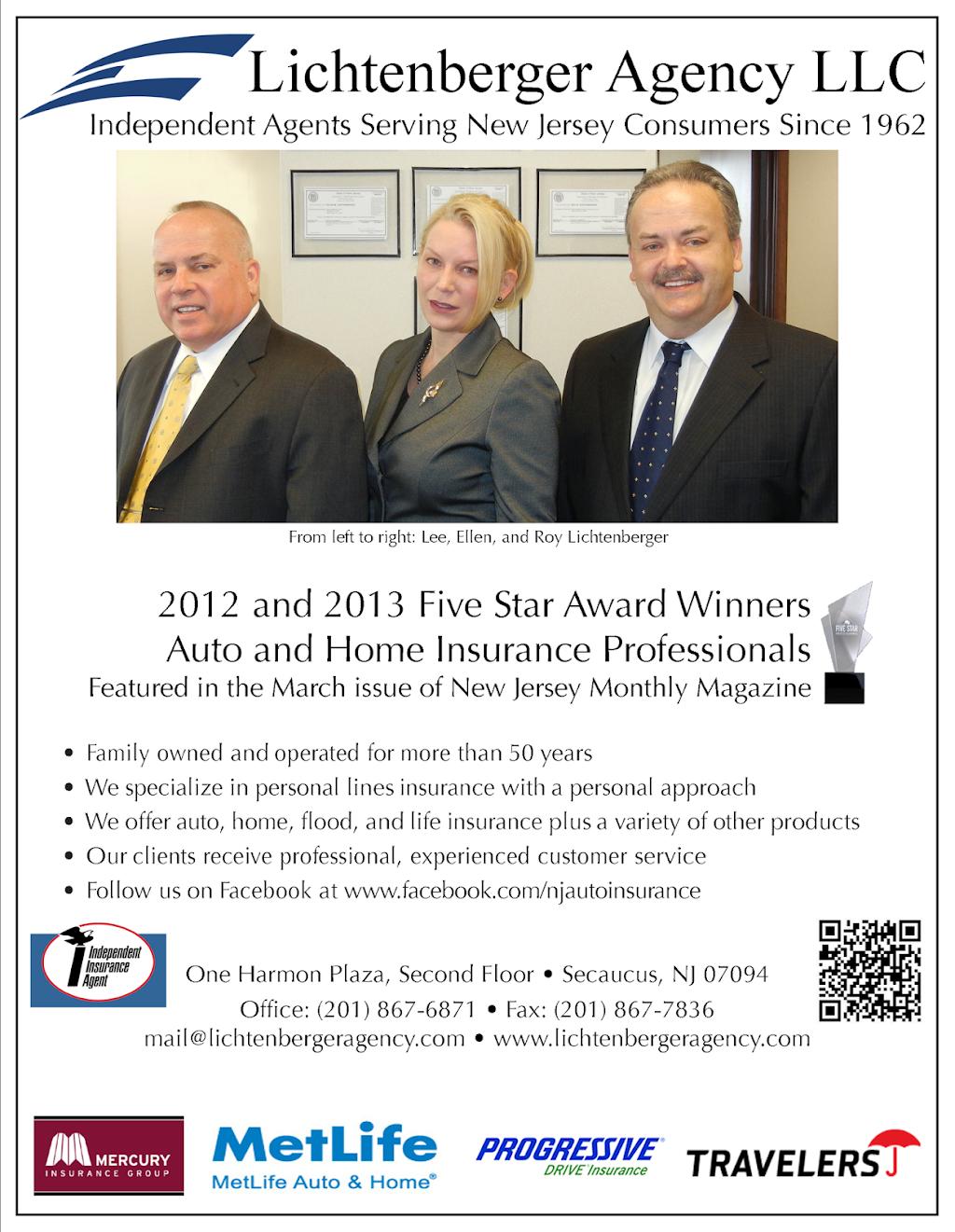 Lichtenberger Agency LLC - insurance agency  | Photo 3 of 6 | Address: Second Floor, One Harmon Plaza, Secaucus, NJ 07094, USA | Phone: (201) 867-6871