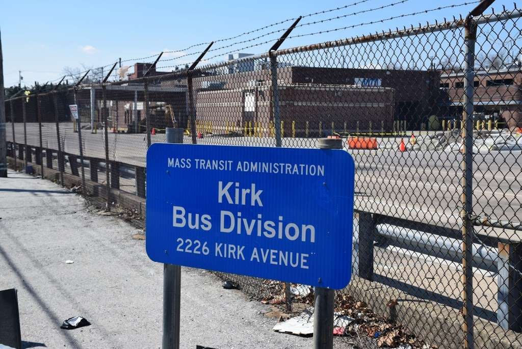 MTA Kirk Avenue Bus Division - local government office  | Photo 4 of 7 | Address: 2226 Kirk Ave, Baltimore, MD 21218, USA | Phone: (410) 539-5000