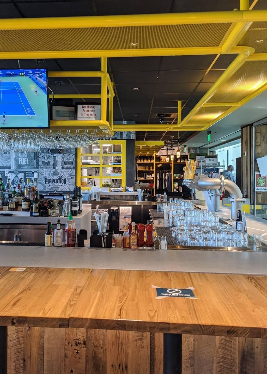 Hopworks Urban Brewery - restaurant  | Photo 7 of 8 | Address: PDX AIRPORT 7000 NE Airport Way, Concourse E, Portland, OR 97218, USA | Phone: (571) 982-0358