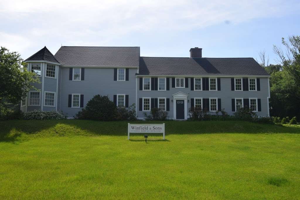 Winfield & Sons Funeral Home and Crematory - funeral home  | Photo 1 of 7 | Address: 571 W Greenville Rd, Scituate, RI 02857, USA | Phone: (401) 647-5421