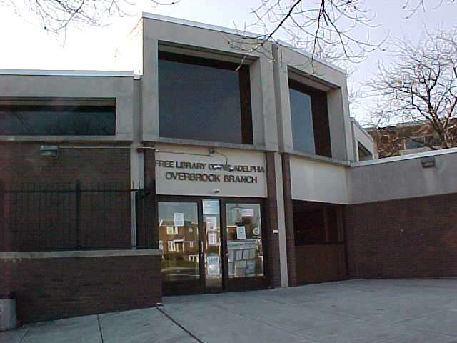 Overbrook Park Library - library  | Photo 1 of 2 | Address: 7422 Haverford Ave, Philadelphia, PA 19151, USA | Phone: (215) 685-0182